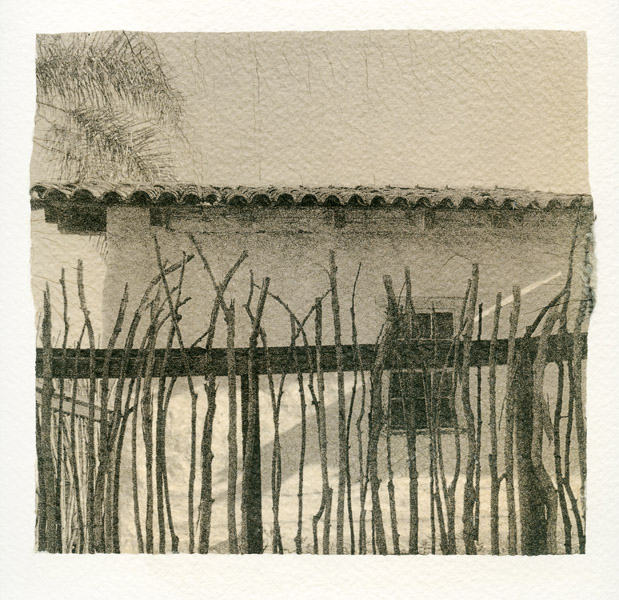 011 Guardhouse Fence I 2018 Sara Yerkes