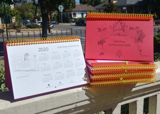 Kids Draw Architecture Calendar 2020