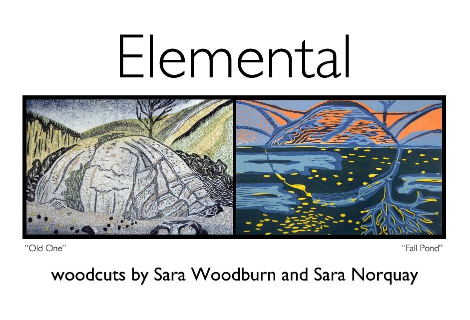 Elemental Postcard