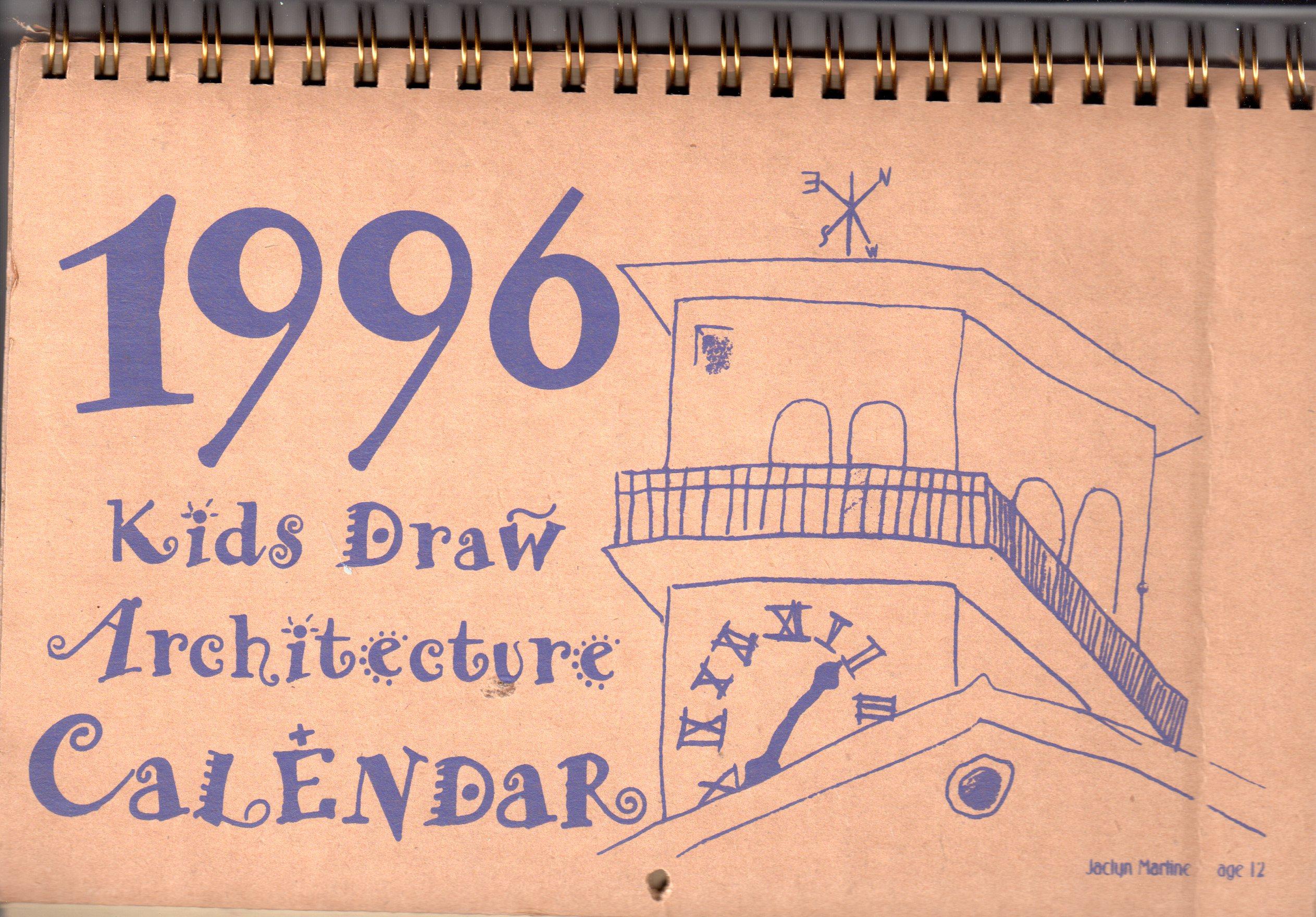 KDA CALENDAR1996