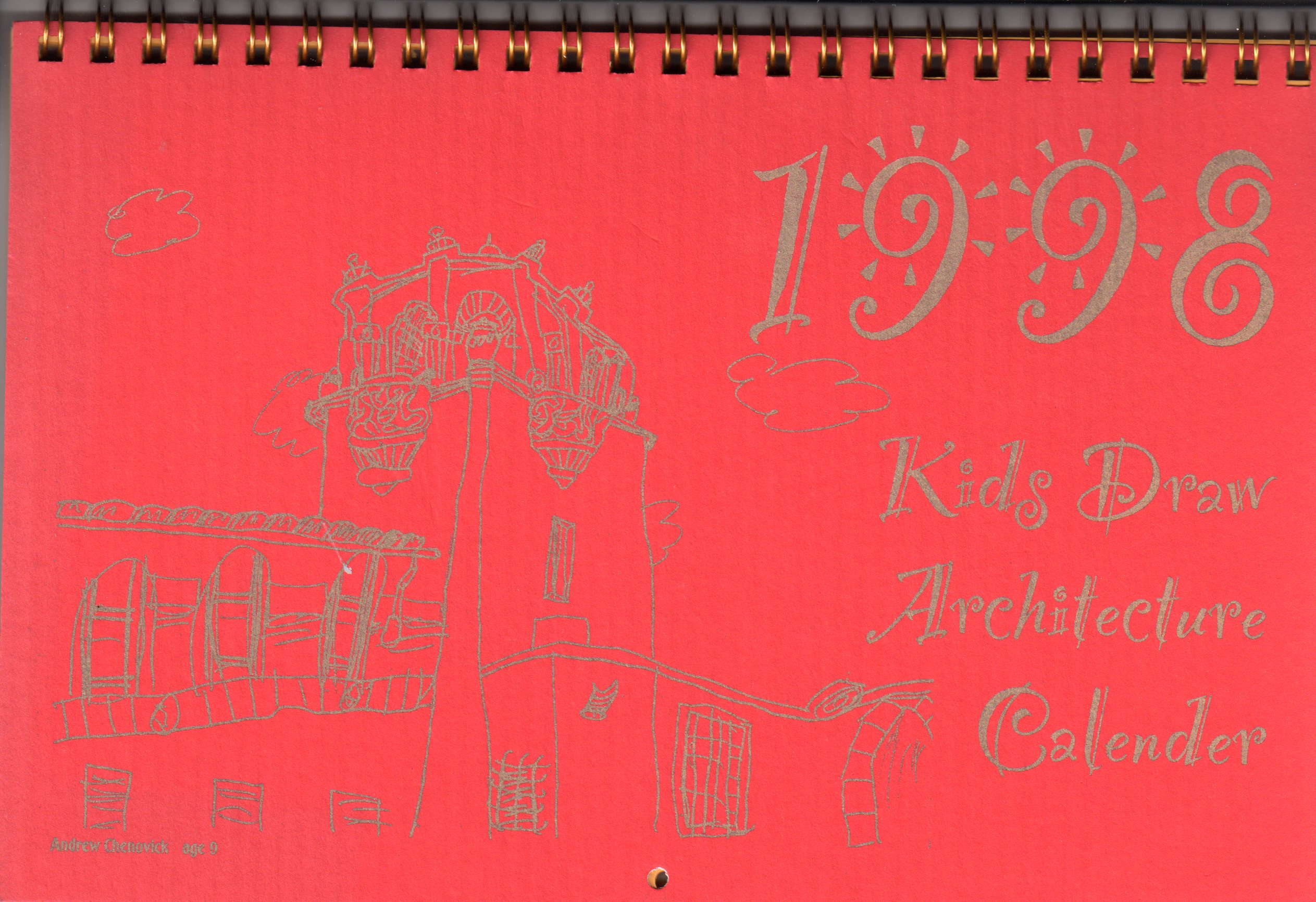 KDA CALENDAR1998
