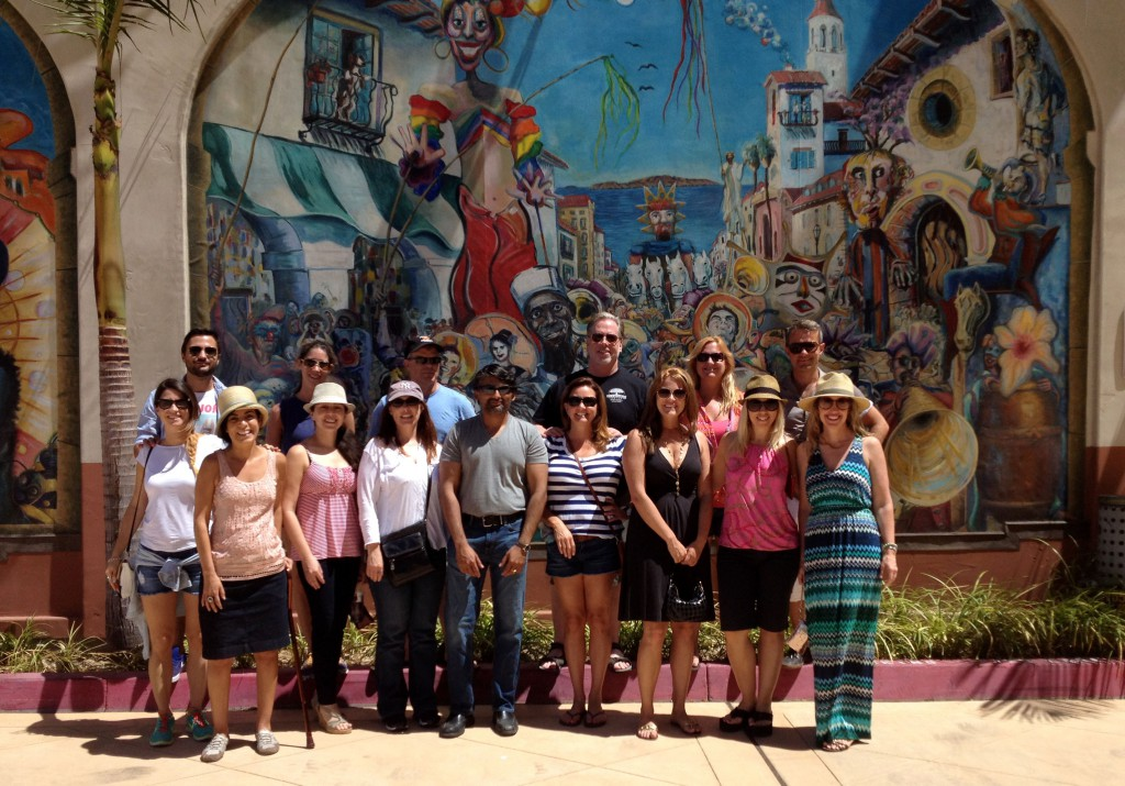 Domingo Walking Tour Group