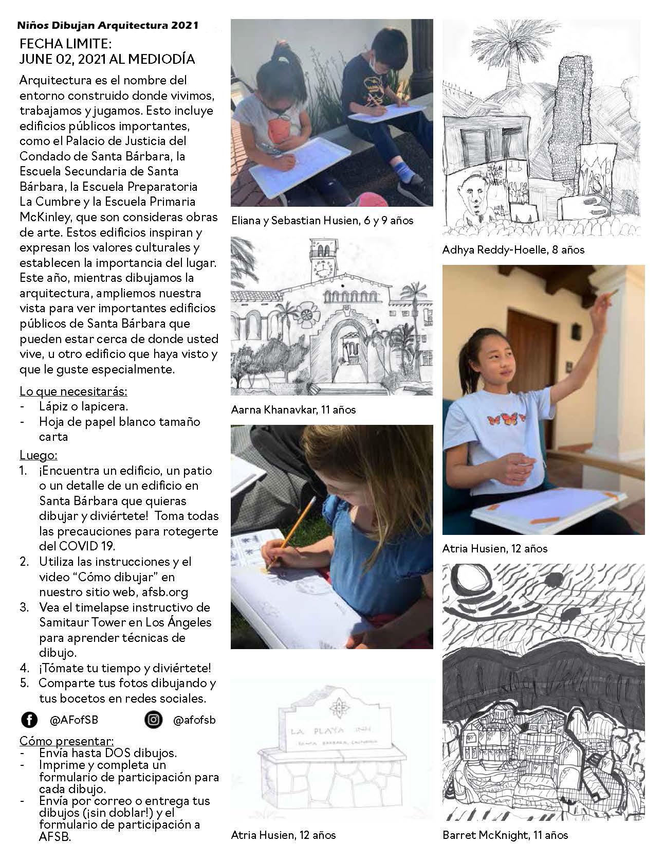 kda flyer_v3 english and spanish_Page_4 Niños Dibujan Arquitectura
